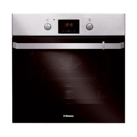 Духовой шкаф Hansa BOEI 69422, электрический, 66 л, 10 режимов, функция гриля, серебристый