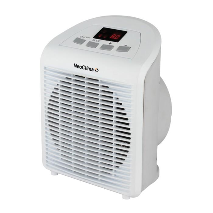 Тепловентилятор NeoClima FH-28, 2000 Вт, белый