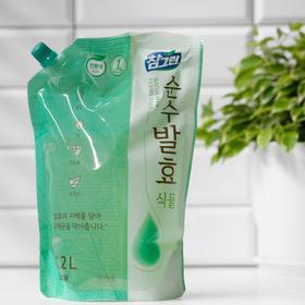 Средство для мытья посуды CJ Lion Chamgreen Pure Fermentation Растительные ферменты, 1,2 л 304125