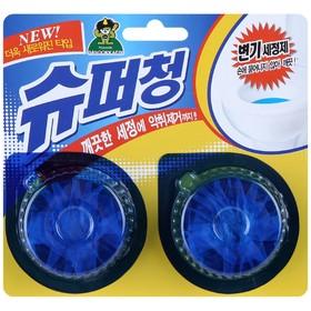 Очищающая таблетка для унитаза Sandokkaebi Super Chang, 2 шт. по 40 г