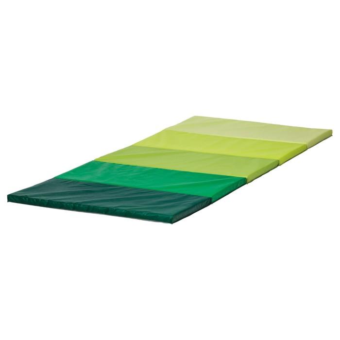 Складной гимнастический коврик, зелёный ПЛУФСИГ