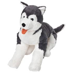Мягкая игрушка «Собака хаски» в Донецке