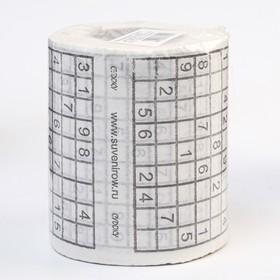 Souvenir Sudoku toilet paper