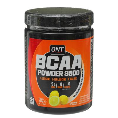Аминокислоты BCAA Powder 8500 QNT, лимон, 350 г