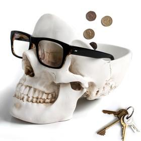 Органайзер для мелочей skull белый