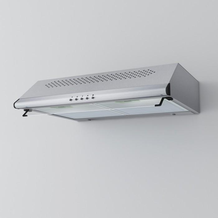 Вытяжка Lex Simple 600 Inox, 3 скорости, серебристый