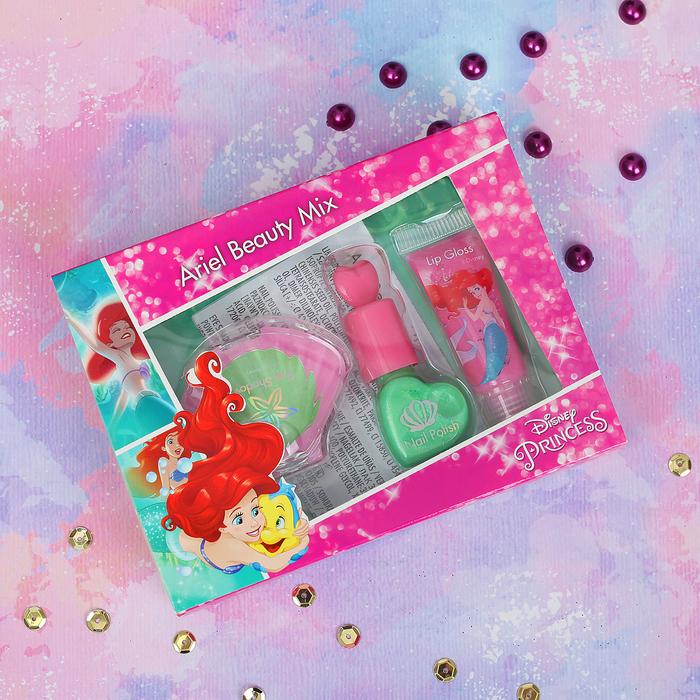 Игровой набор детской декоративной косметики для лица и ногтей Princess