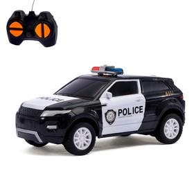 """Машина радиоуправляемая """"Полицейский джип"""",МИКС работает от батареек"""