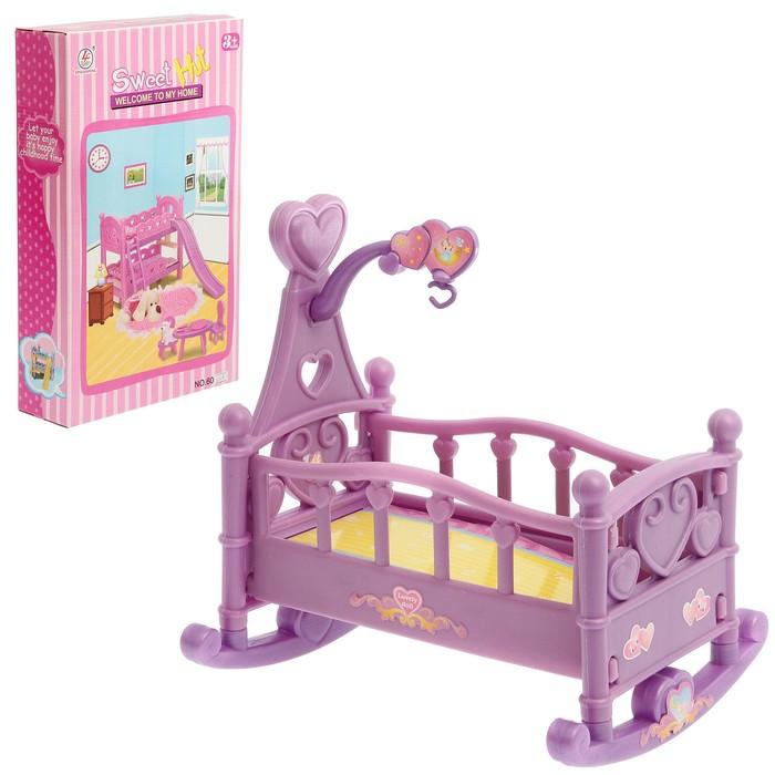 Кроватка-качалка для куклы