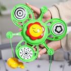 Мобиль музыкальный «Веселые зверята», заводной, цвет МИКС - фото 105530093