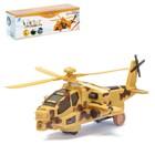"""Вертолет """"Кобра"""", работает от батареек, цвета МИКС"""
