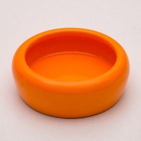 Миска керамическая 110 мл, оранжевая