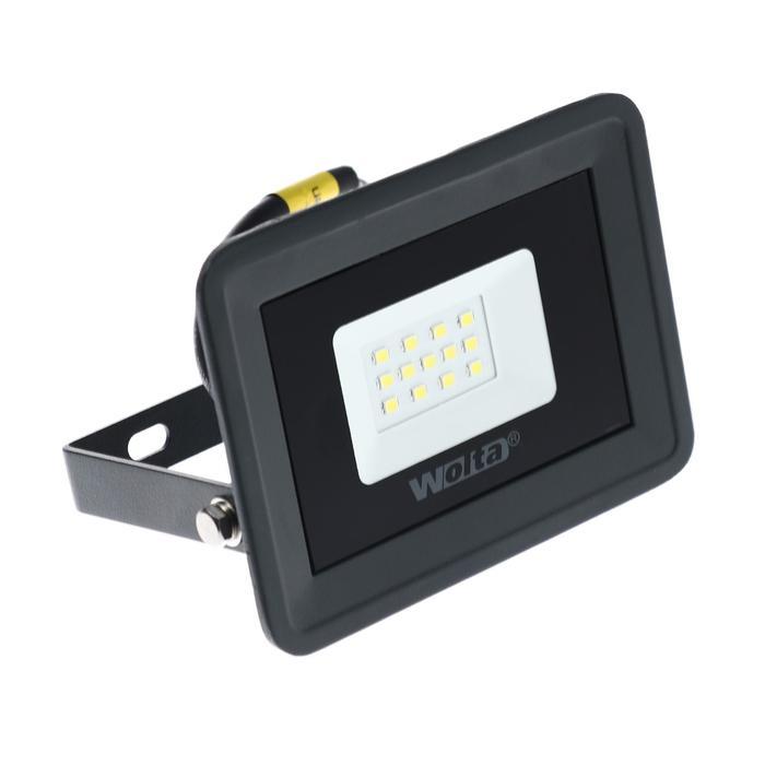 Прожектор светодиодный WOLTA WFL-10W/06, 10 Вт, 5500K, SMD, IP 65, цвет серый, слим