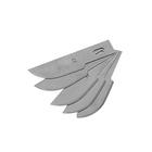 Лезвия для макетного ножа FIT, закругленные, 6 мм, 5 шт.