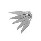 Лезвия для макетного ножа FIT, скошенные, 6 мм, 5 шт.
