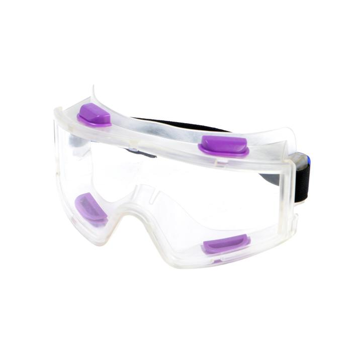 Очки защитные FIT, панорамные, поликарбонатное стекло, система вентиляции