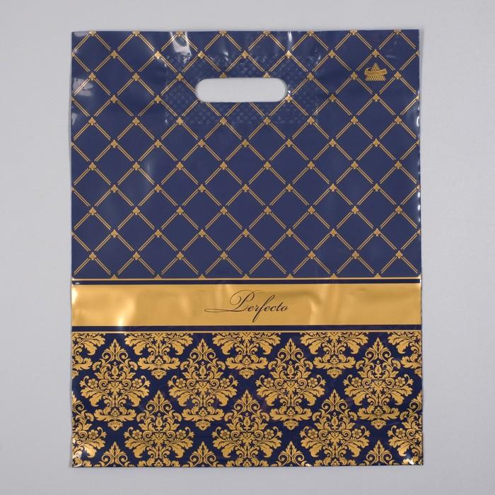 """Пакет """"Перфекто Вензель"""", полиэтиленовый с вырубной ручкой, 30 х 37 см, 90 мкм - фото 308983598"""
