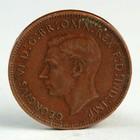 """Монета """"1 фартинг 1946 Великобритания"""""""