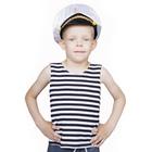 """Карнавальный костюм """"Морской волк"""", тельник, фуражка, 2-3 года рост 94-104"""