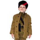 Фуфайка военного, 3-5 лет, рост 104-116 см