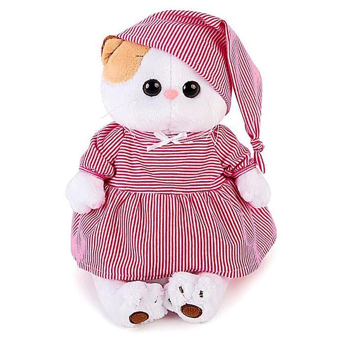 """Мягкая игрушка """"Ли-Ли"""" в розовой пижамке, 24 см"""