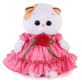 Мягкая игрушка «Ли-Ли BABY», в платье с вязаным цветочком, 20 см