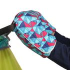 Муфта для рук «Морозко» флисовая, на липучках, цвет голубой «Арлекино»