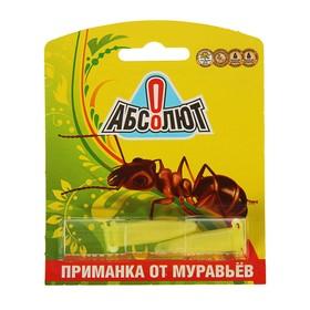 Приманка от муравьев 'Абсолют' 2 пробирки Ош