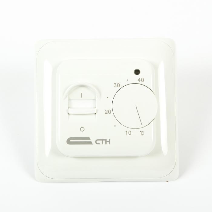 "Терморегулятор ""СТН"" MT26, механический, 3500 Вт, 1 датчик, +5...+40 C, белый"