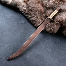 """Сувенир деревянный """"Сабля"""", 63 см, массив бука"""