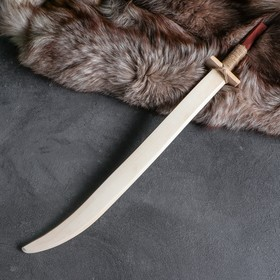 """Сувенир деревянный, """"Сабля"""", 63 см, массив бука"""