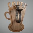 """Бра деревянное """"Coffee"""""""