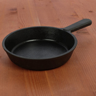 Сковорода порционная с чугунной ручкой 14,5х3 см