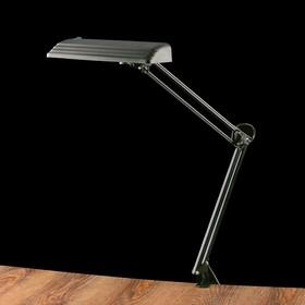 Фитосветильник светодиодный «Дельта П-С32Ф», на металлической струбцине, 12Вт, 220 В, 50 Гц, чёрный Ош