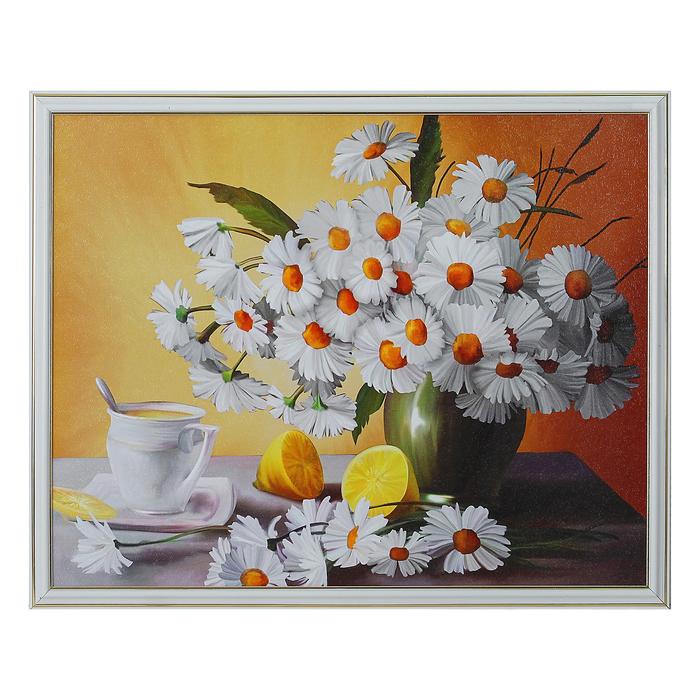 """Картина """"Ромашки в вазе"""" 43*53 см"""