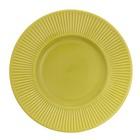 """Тарелка десертная 22,5 см """"Лимонный. Зеленый"""""""
