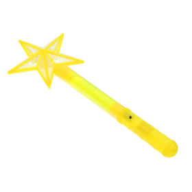 "Wand of light ""Asterisk"", color yellow"