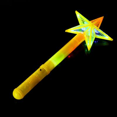 Палочка световая «Звёздочка», цвет жёлтый