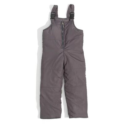 Полукомбинезон для мальчика, рост 104 см, цвет серый