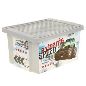 Ящик для хранения игрушек «Супер Трак», 17 л
