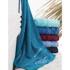 Набор полотенец Dolphins, размер 50х90 см-6 шт., махра 450 г/м2 9559