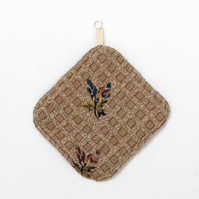 "Potholder ""Ethel"" Rosemary, 17x17 tapestry ± 2 cm"