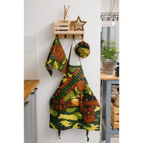 {{photo.Alt || photo.Description || 'Кухонный набор «Генерал кухни», фартук 60х70 см, прихватка 20х20 см, полотенце 35х60 см'}}