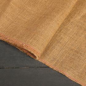 Джут натуральный, 1,06 × 5 м, плотность 360 г/м², плетение 69/44 Ош