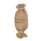 Рукав джутовый, 0,95 × 0,32 м, плотность 190 г/м², с завязками, плетение 34/22