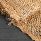 Джут натуральный, 1,1 × 10 м, плотность 215 г/м², плетение 34/32