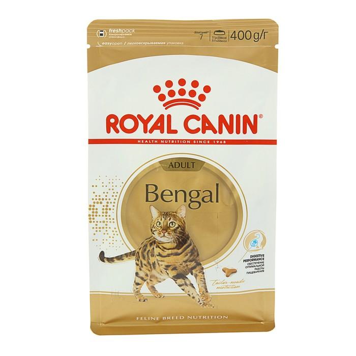 Сухой корм RC Bengal для бенгальских кошек, 400 г