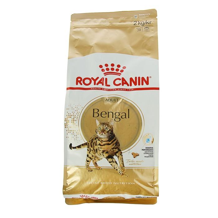 Сухой корм RC Bengal для бенгальских кошек, 2 кг