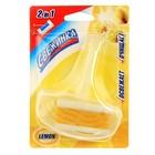 """Гелевый освежающий блистер для унитаза Свежинка """"Лимон"""", 40 гр"""