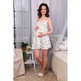 Сорочка для беременных и кормящих  485 цвет МИКС, р-р 50 Ош